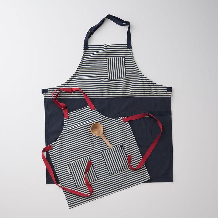 Blue Striped Apron. Kitchen AccessoriesHand ...