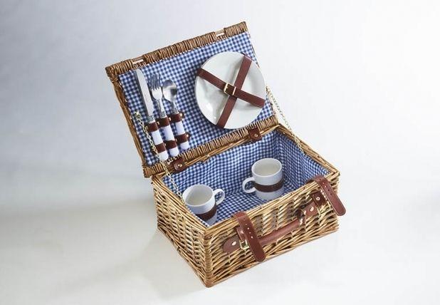 Picknickkoffer für 2 Personen 10tlg - Weide