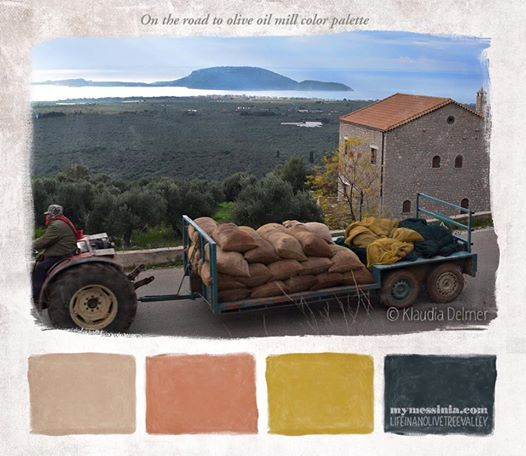 Christmas in Messinia color palettes | My Messinia