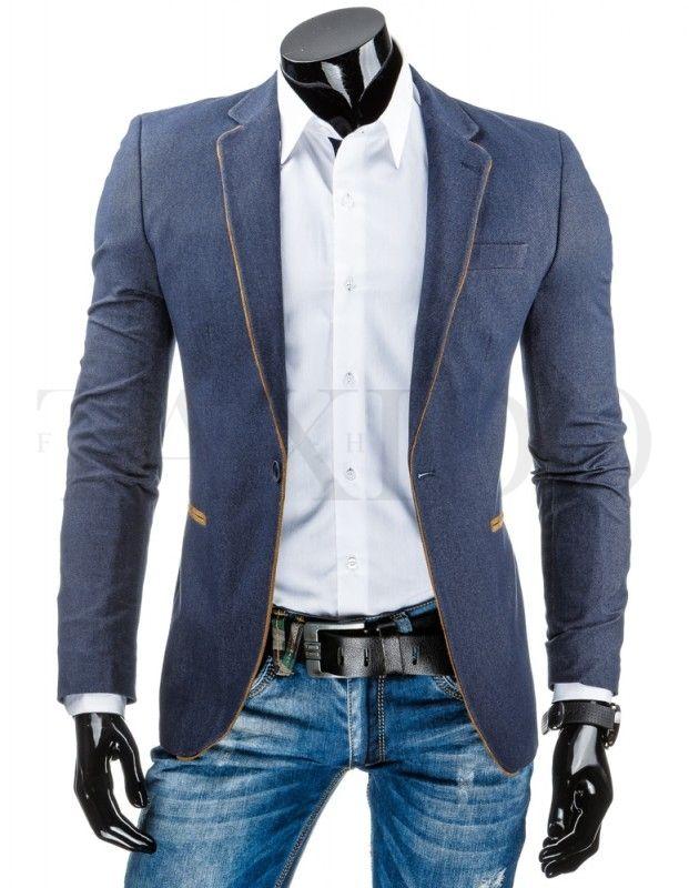 Pánské stylové sako - Windsor, světlé