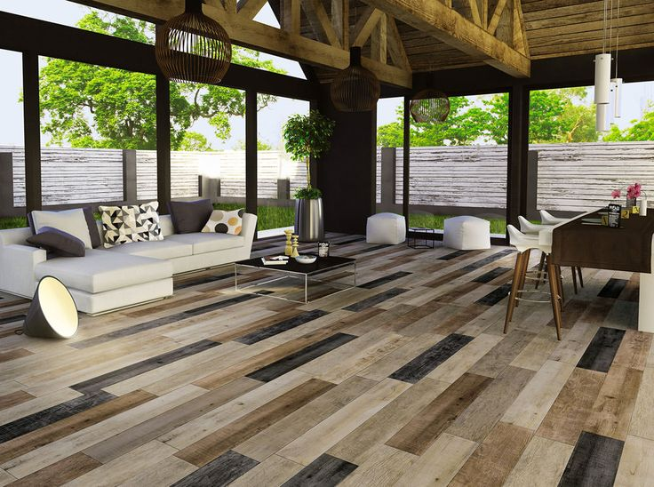 Mirage NooN porcelain allows you to combine different wood look tiles to  create original rhythms and - 11 Best Contemporary Modern Wood Look Tile Flooring Images On