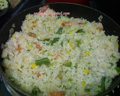 Coconut Rice...Chef of the week : Oreoluwa Ayeni - Afrolems Nigerian Food Blog