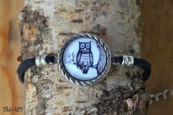 bracelet with owl