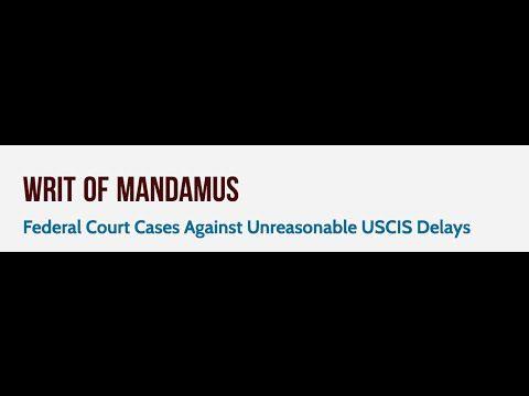 Writ of mandamus immigration sample http://blog.lawyersinus.com/writ-of-mandamus-immigration-sample/