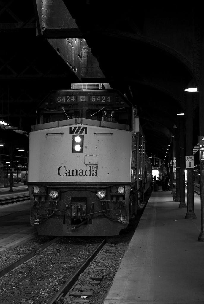 Toronto Train Station   Flickr - Photo Sharing!