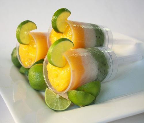 Alcoholic Push Pops!    Post image for Mango, Lychee, and Kiwi Daiquiri Push Pops Cocktails from Today Show