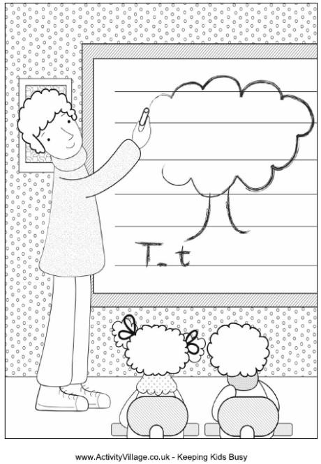 activity village printables coloring pages - photo#16