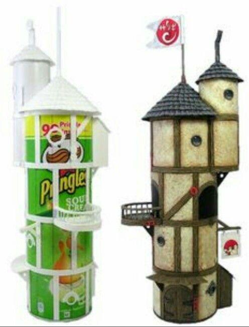 Pringles tower