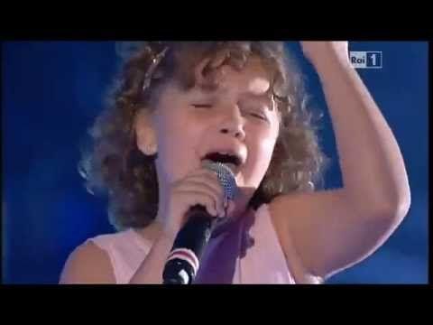 CRACIUN, Maria Cristina,   Caruso, 11 old Age Nieta de Pavarotti