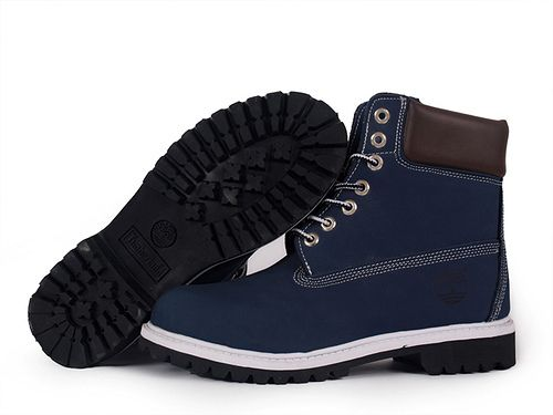 Blue Timberland Boots | Men's Blue Timberland 6-inch Boot
