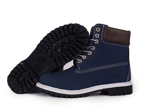 Blue Timberland Boots | Men's Blue Timberland 6-inch Boot