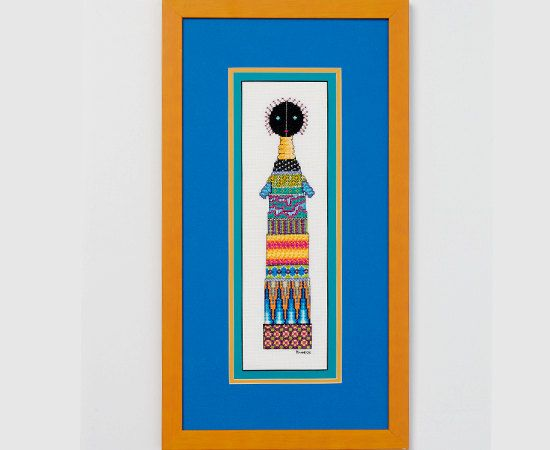 African Doll - A counted cross stitch pattern on Etsy, $8.00 AUD