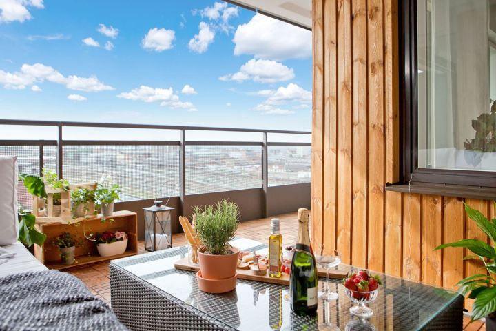 17 mejores ideas sobre pisos para terrazas exteriores en for Balcones madera exterior