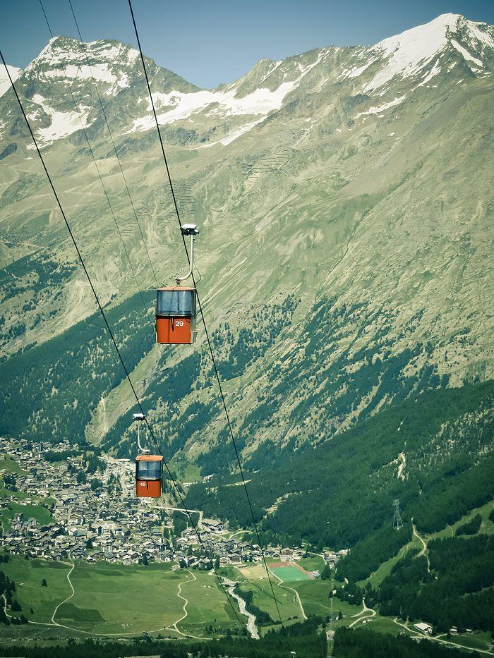 Saas-Fee, Switzerland.