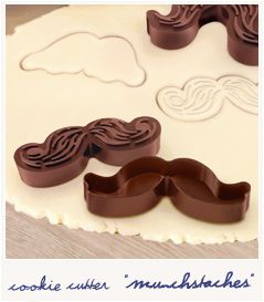 To bake moustache biscuit