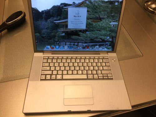 Apple MacBook Pro 15 2007 2.16Ghz 2GB RAM with OS 10.6