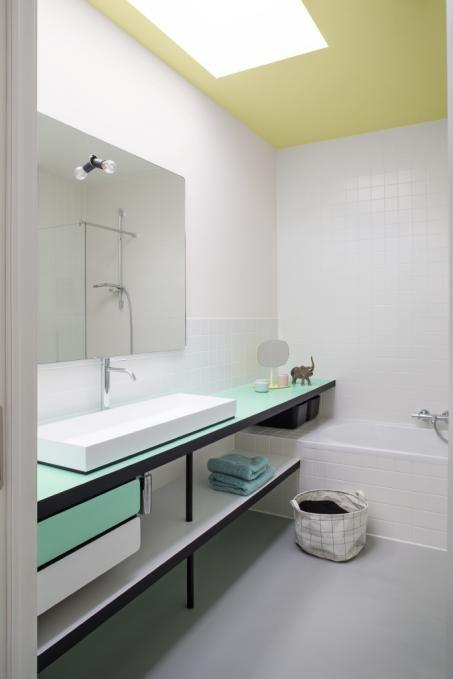 43 besten Badkamer Bilder auf Pinterest   Balkon pflanzen, Blühende ...