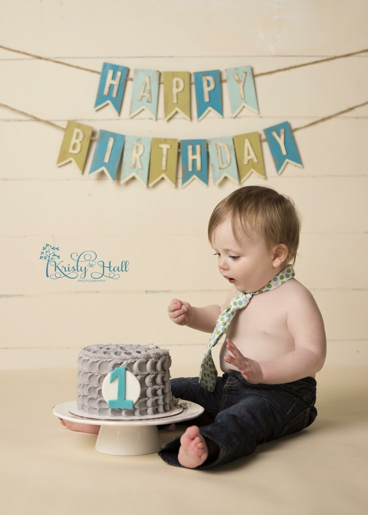 Boy First Birthday Cake Smash Ideas