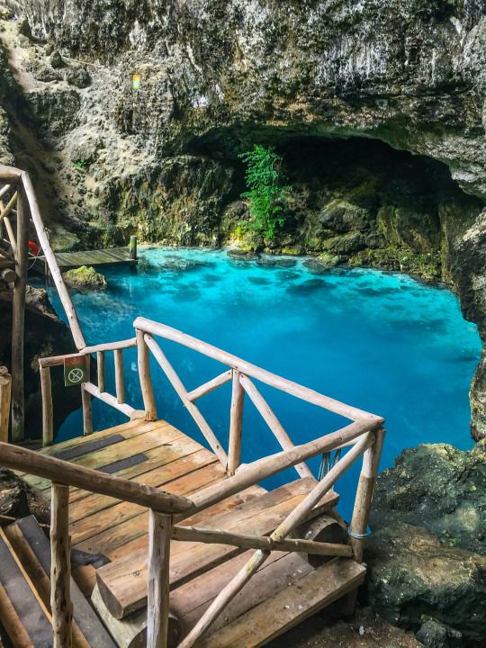 Hoyo Azul Natural Pool at Punta Cana, Dominican Republic