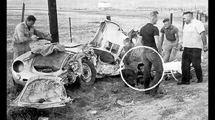Details James Dean Car Crash