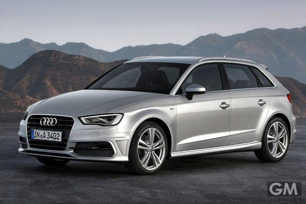 インターネット接続ができるアウディ A3 スポーツバック (Audi A3 Sportback) が登場!