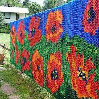 ARTESANATO FOFO 2: Mosaicos com tampas de garrafa