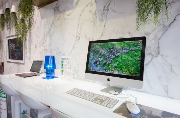 Spark, Newmarket featuring Formica 180fx Carerra Marble