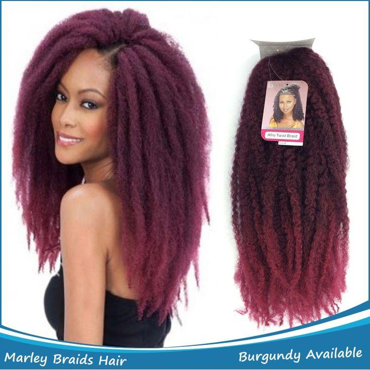 Les 7 meilleures images propos de marley hair sur pinterest balayage ombr coiffure kinky - Meche a tresser pas cher ...