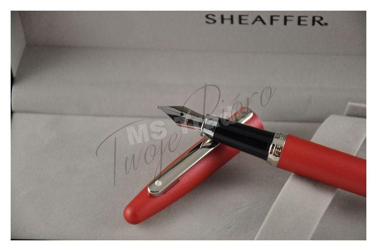 Pióro wieczne Sheaffer VFM 9403 czerwone Twoje Pióro - ekskluzywne artykuły piśmienne