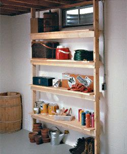 DIY Utility shelves (with style!)
