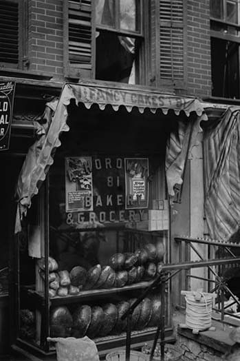 "Jewish Bakery ""Horowitz"" on Lower East Side of New York"