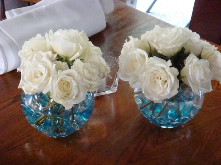 Inexpensive Wedding Centerpiece Ideas   Bing Images Grey And Pink Stones?