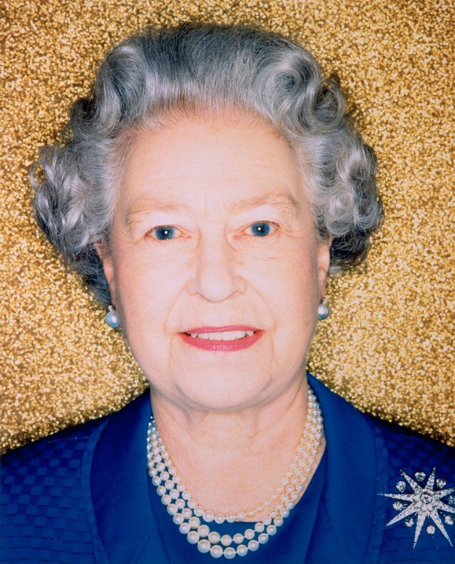 Photographer: Polly Borland Title: HM Queen Elizabeth II Date: 2002 Size: 61.0 x 49.3cm Medium: Type C Photograph  URL: http://www.portrait.gov.au/portraits/2002.43/hm-queen-elizabeth-ii  This image is of the Queen.  The colours are very bright and happy.  The Queen has a happy expression on her face and the colours are also very bright and happy.  Because of this the mood is very upbeat and happy.  The photographer has used cropping very well in capturing the queens expression.