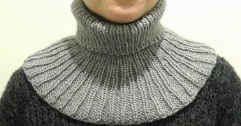 Siskoni pyysi minua tekemään hänelle kaulurin, jota hän voisi käyttää aina näin talvisin ulkoillessa ja lenkkeillessä, kun tavallinen kau...