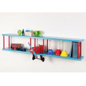 Aeroplane shelf for the kid's room