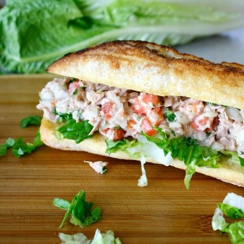 how to make tuna salad sandwich with eggs