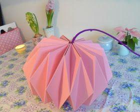 bang bang: lav din egen origami lampe