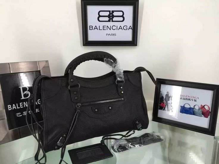 Balenciaga Black City Bag Sale