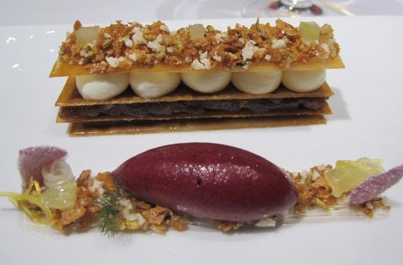 Taffety tart by Heston Blumenthal - Fat Duck