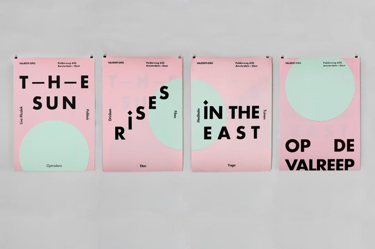 : Poster Design, Inspiration, Graphic Designers, Graphics Design Studios, The Sun Rise 4 Posts, Community Center, Promotion Poster, Poster Sets, The Sun Rise In The East