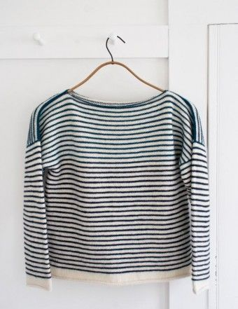 Striped Spring Shirt | The Purl Bee