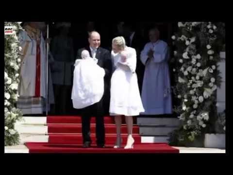Royale Taufe in Monaco Zwillinge bekommen göttlichen Segen?