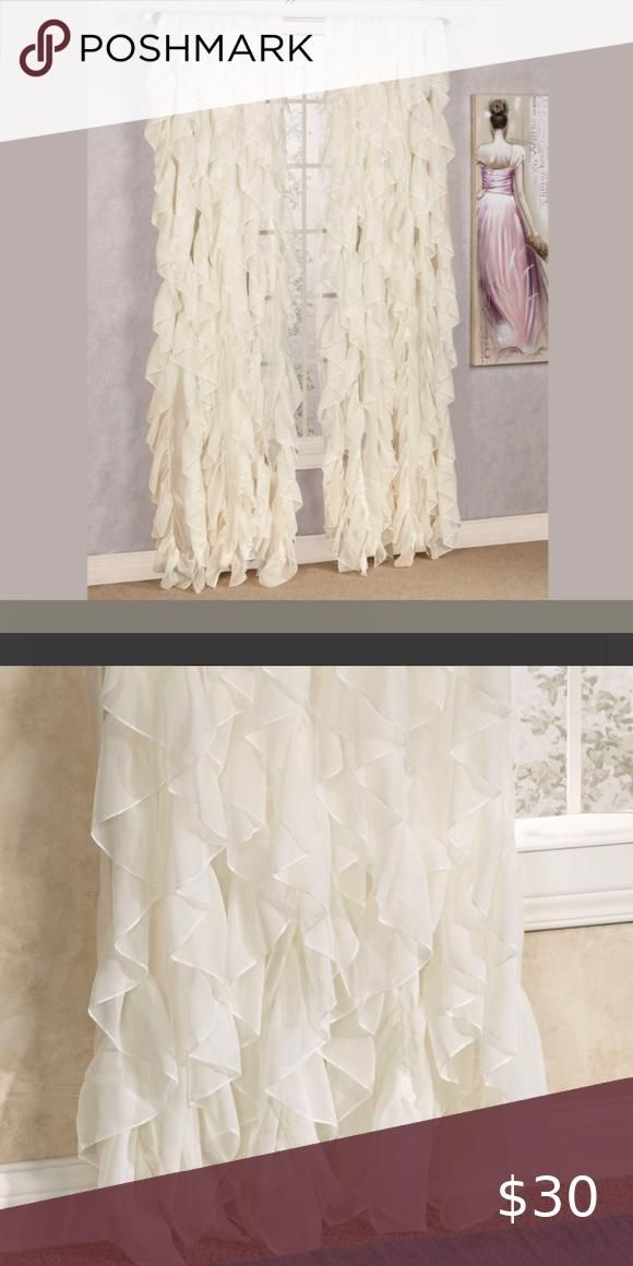 84 Inch Curtains In 2020 Ivory Curtains Panel Curtains Curtains