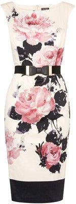 Phase Eight Carrera Rose Dress, Multi