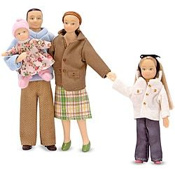 Shop for Melissa & Doug Victorian Caucasian Doll Family Set. Free Shipping on orders over $45 at Overstock.com - Your Online Toys & Hobbies Outlet Store! Get 5% in rewards with Club O! - 13862876