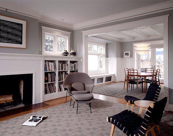 25 best ideas about craftsman interior on pinterest for Craftsman interior design elements