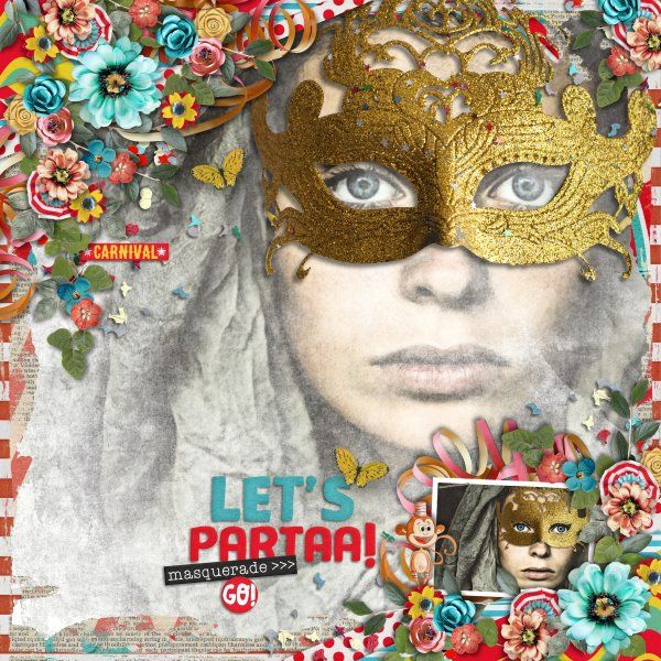 Kit Let's Part-AAA by Valentina Pellitteri(Valentina Creations). Template The Bigger Picture #5 by Heartstrings Scrap Art. Photo per kind favour of Marta Everest Photography.
