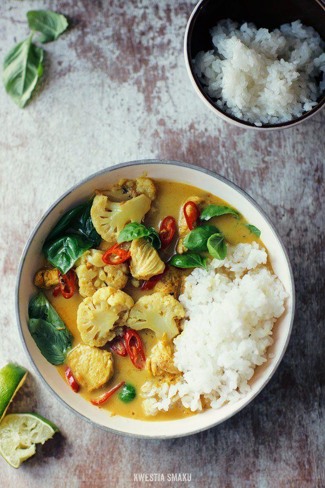 Curry z kurczakiem i kalafiorem