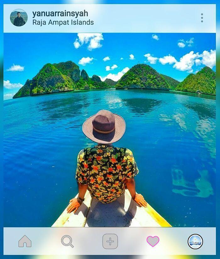 Selalu rindu lautan..   Loc: #Wayag #RajaAmpat    Kebayang ga sih kalo jalan-jalan kamu dibikin kegiatan #TravelGame yang menarik dan unforgetable? Ga cuma dateng foto lalu pulang gitu aja. Yuk cek  www.travelmate.today/travelgame untuk detailnya   Tag #travelmate kamu  #outing #gathering #traveling Travelmate Today IndonesiaTravelmate Today Indonesia