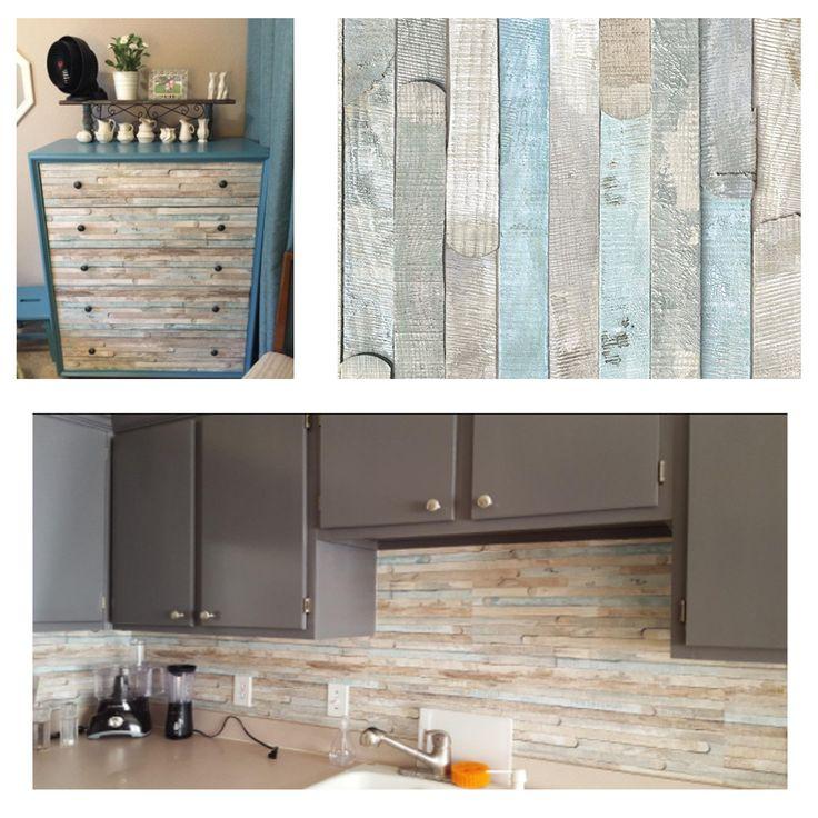 Adhesive Peel And Stick Kitchen Decor Backsplash Tile Film Wall Decal  Sticker Amazing Ideas